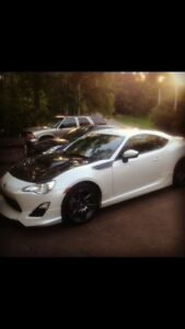 Supercharged Scion FR-S