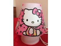 hello kitty kids lamp