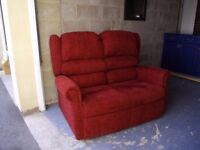 SOFA as new two seat settee, cost £800. could deliver in 10 miles for £15