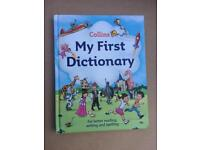 'My First Dictionary' Collins