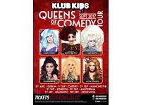 QUEENS OF COMEDY TOUR: Hosted By Bianca Del Rio Sunday 10/9/17 at O2 Academy Newcastle
