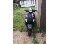 Piaggio VESPA LX50 2006 2STROKE 50cc moped/scooter