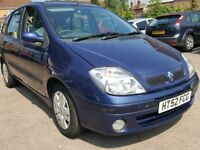 low milage renault scenic 1.6, £575, may p/x, swap
