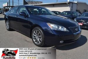 2009 Lexus ES 350 ULTRA PRIMIUM GPS VAVI PANORAMIC ROOF
