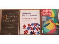 PGCE Teacher Training Books