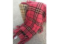 Two Burberry Scarves