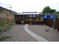 Charming one bedroom unfurnished garden flat in Danderhall area.