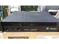Peavey pv1200 power amp and speakers
