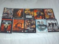10 ALL ACTION DVDs