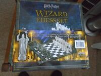 Harry Potter Wizard Chess Set (New/Unused)
