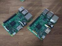 Raspberry Pi 3 + 8GB SD Card X2 - Board only