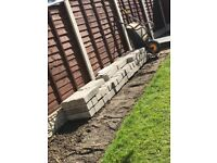 Marshalls Ash 440x100x140mm Pitched Face Walling Stone 54 Left Collection Only Harrogate