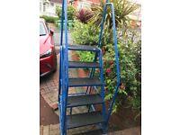 ladder platform access frame.