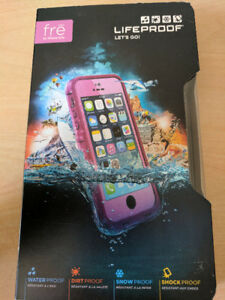 BRAND NEW-LIFEPROOF FRE IPHONE 5/5S/5SE-PURPLE