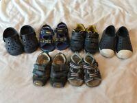 Bundle of x6 boy's shoes (size 3 & 4)