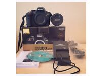Nikon D3300 DSLR *Including 128gb San Disk Memory Card