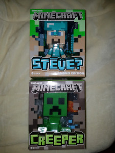 Minecraft toys like new
