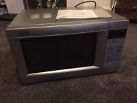 Microwave oven for sale - Belling M385TCS - 900W - average to good condition
