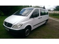 Mercedes-Benz Traveliner 2.1 CDI 109 Bus Extra Long 9 seats 4dr Low Mileage , Clean , Sunroof