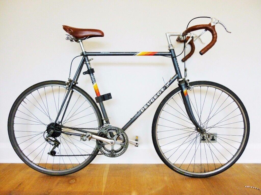 Vintage Peugeot Road Racing Bike - 14 speed, frame size 25inch or ...