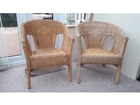 conservatory/bedroom chairs