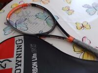Browning Carbon Lite Cti Tennis Racket with Cover - Never Used