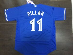 Brand New Toronto Blue Jays Kevin Pillar Stitched Jersey.