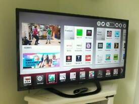 LG 42inch Smart TV in as new condition.
