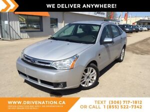 2008 Ford Focus SES LOW KM! GREAT ON GAS!