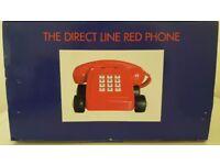 Red Direct Line, Collectors landline telephone