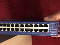 Netgear 48 port Gigabit Smart Switch.