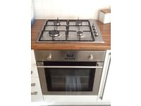 Hob and electric oven together or separate can arrange install