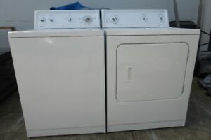WHITE KENMORE WASHER AND DRYER EXCELLENT CONDITION