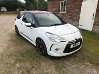 Citroen DS3 1.6 Petrol Turbo, Top of the Range *low mileage*