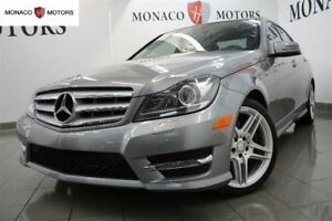 2013 Mercedes-Benz C-Class C350 4MATIC MULTIMEDIA SPORT PKG AMG