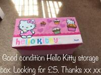 Hello Kitty Storage Box