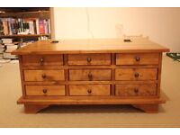Laura Ashley 9 Drawer Coffee Table for sale - RRP: £500!!!