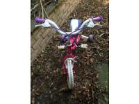 Girls bicycle for 3 to 5-year-old