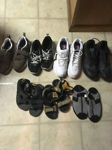 Assortment of men's/boy's shoes