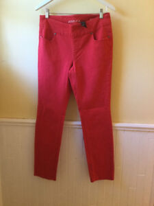 Size 10 Red Jeans