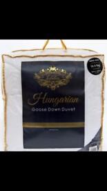 100% pure Hungarian Goose Down Duvet