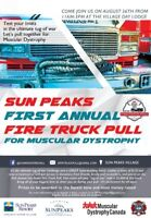 Sun Peaks Fire Truck Pull