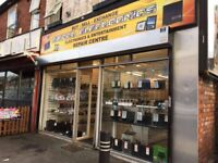 Retail Mobile/Electronic Shop Business For Sale - Main Road Location - Cheap Rent - Free Parking