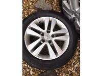 Vauxhall astra H mk5 wheels