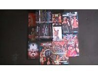 DVDs (3/9) Wrestling DVD and Book Collection