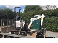 Micro digger and tipper trailer hire