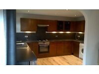 Large Solid Wood U Shaped Kitchen including worktops and sink