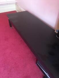 Black long table , very good condition