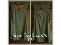Gym Top Size 6/8
