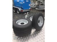 Ifor williams trailer wheels 145/10 4 stud